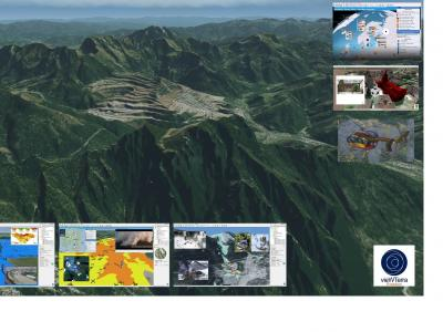 vieWTerra Evolution - Earth Viewer in 4D, piattaforma per l'integrazione e lo sviluppo di dati