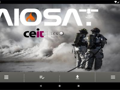 AIOSAT APP main screen