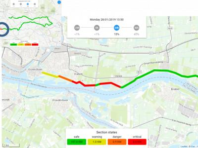 Visualizzatore Real Time Flood Risk Assessment - argini