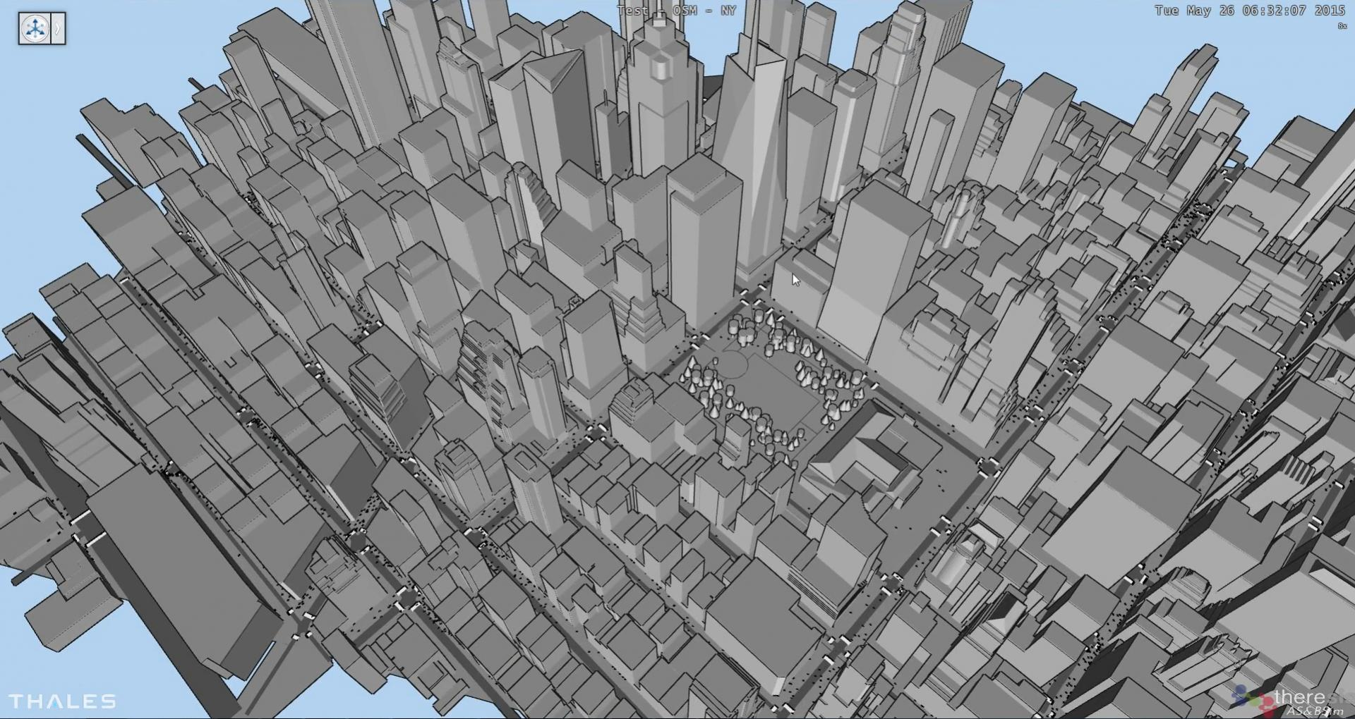 New York - automatic simulation generation from OSM