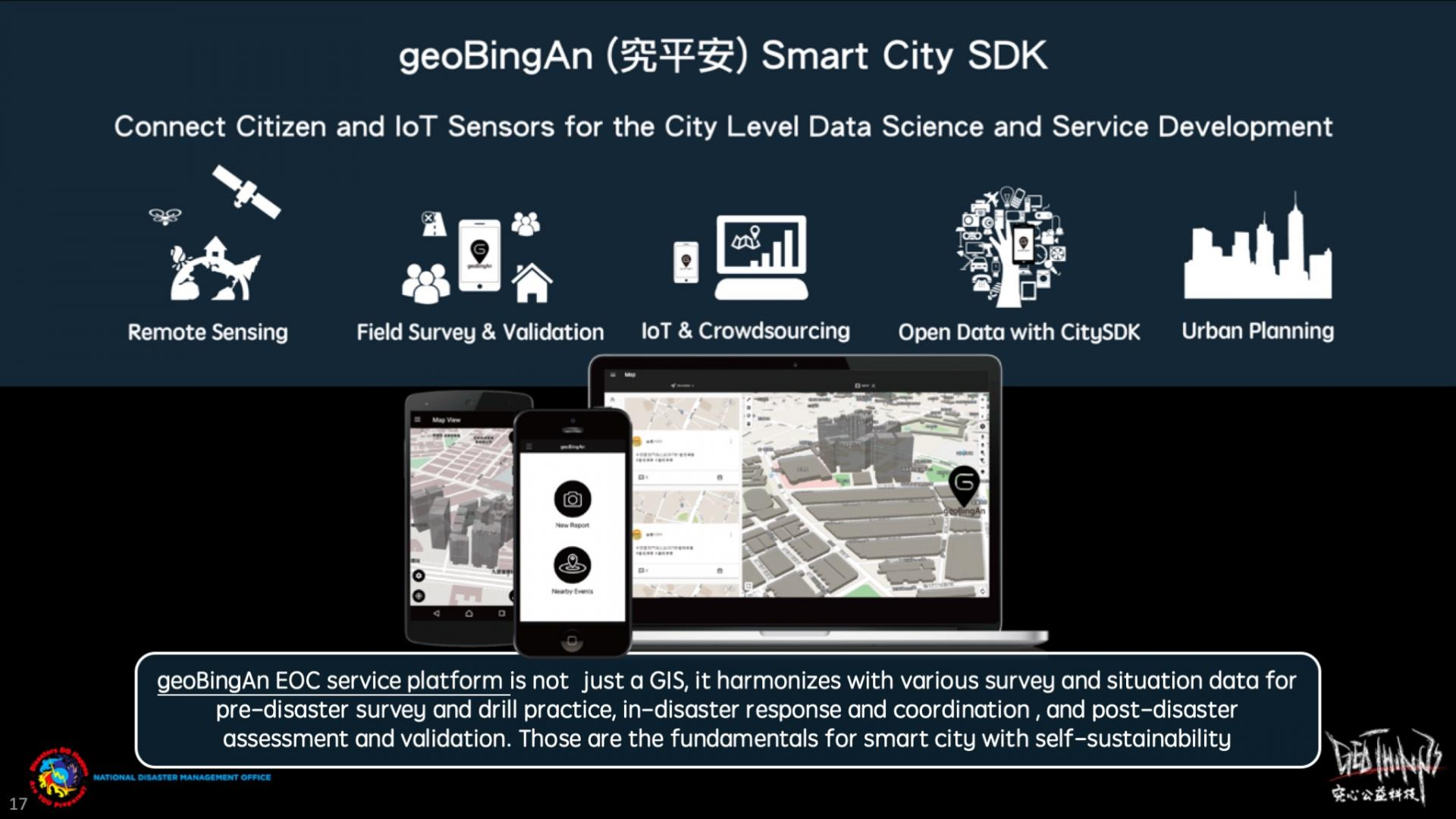 geoBingAn can be not only the EOC, but also the Smart City Service Development Kit platform for urban planning!