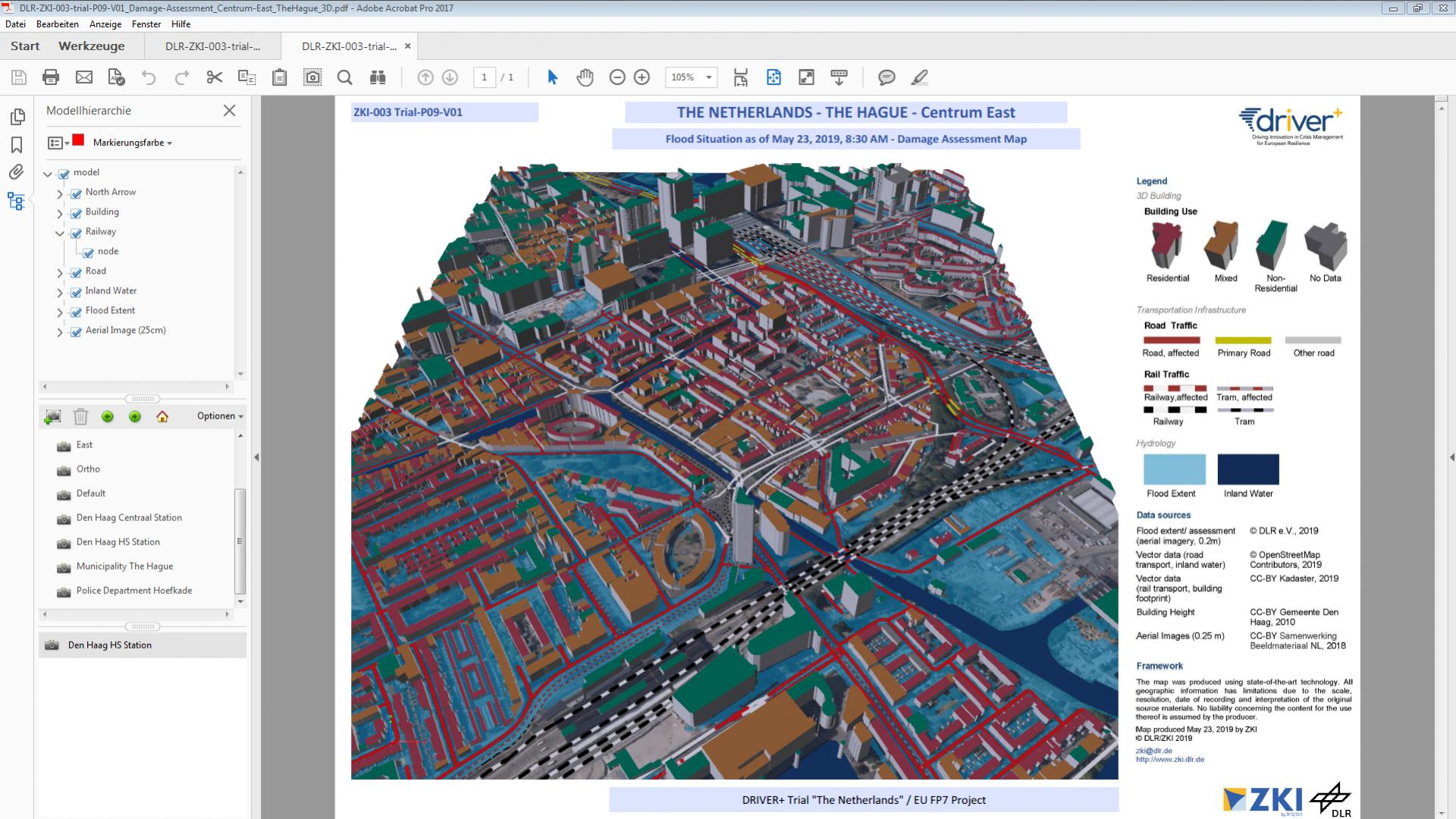 3D Map product trialled in DRIVER+ Trial 'The Netherlands'